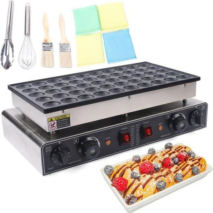 Machine à repasser électrique antiadhésive 50pcs Mini Dutch Pancake Baker Maker