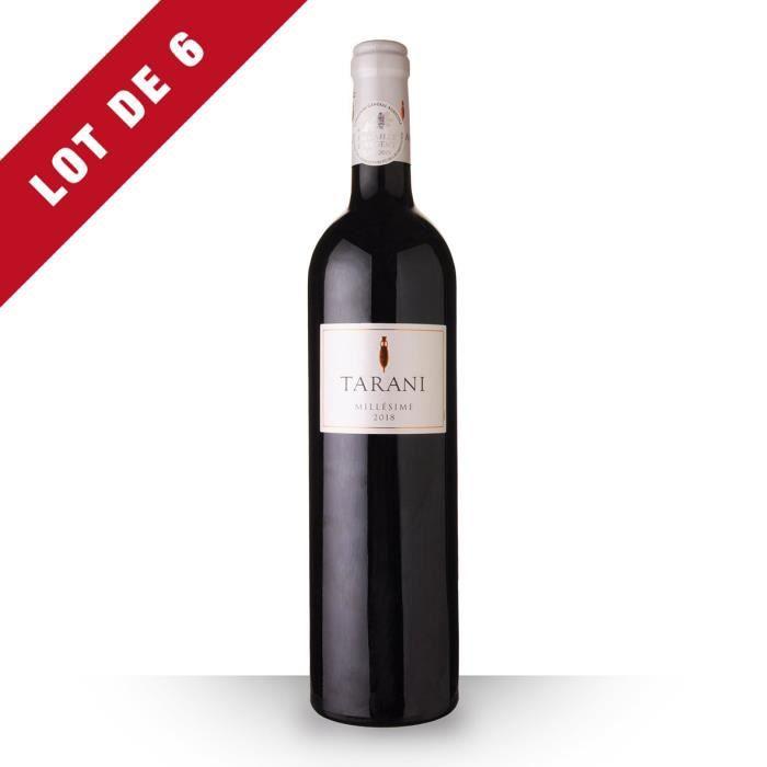 Lot de 6 - Tarani 2018 IGP Comté Tolosan - 6x75cl - Vin Rouge