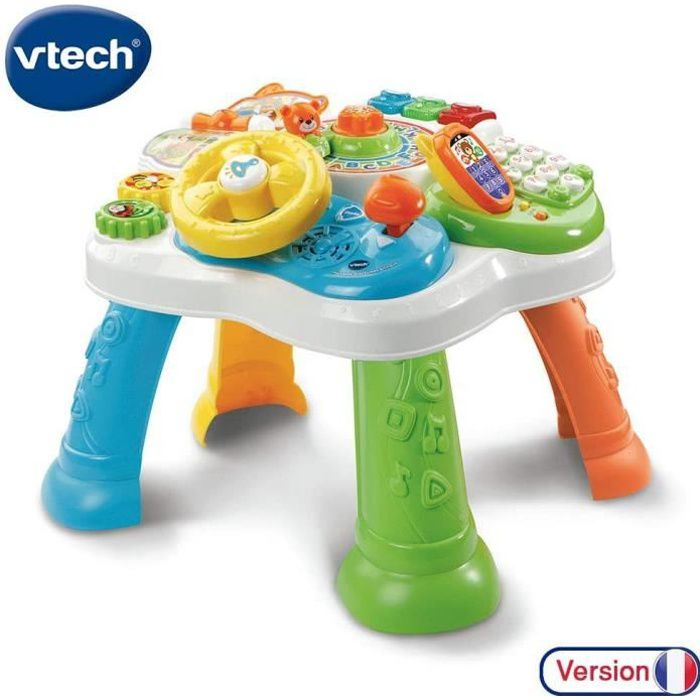 Jouets d'activité et de développement VTech - 181515 - Ma Table d'Activité Bilingue - Multicolore 143483