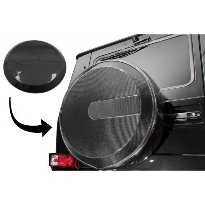 Housse pneu secours pour Mercedes Benz Classe G W463 90-18 fibre carbone
