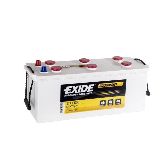 Batterie marine EQUIPEMENT 135 Ah EXIDE