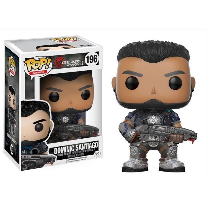 Figurine Funko Pop! Gears of War : Dominic Santiago