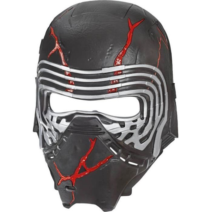 Star Wars L'Ascension de Skywalker - Masque Electronique de Kylo Ren - Accessoire de déguisement
