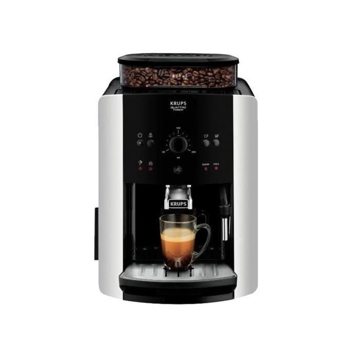 Krups EA8118, Autonome, 1,6 L, Café en grains, Broyeur intégré, Noir