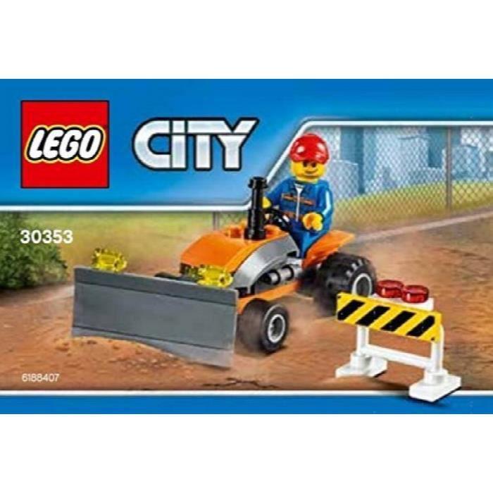 LEGO Ville Ville Construction - Tracteur Polybag (30353) VTR31