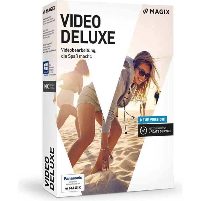 MAGIX Logiciel Video deluxe - Box - FR