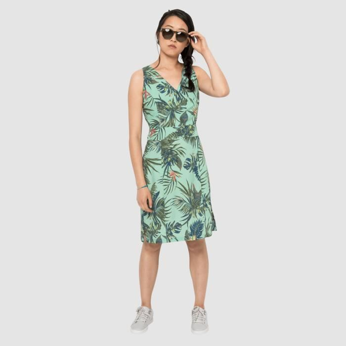 Robe Femme Jack Wolfskin Wahia Tropical Light Jade