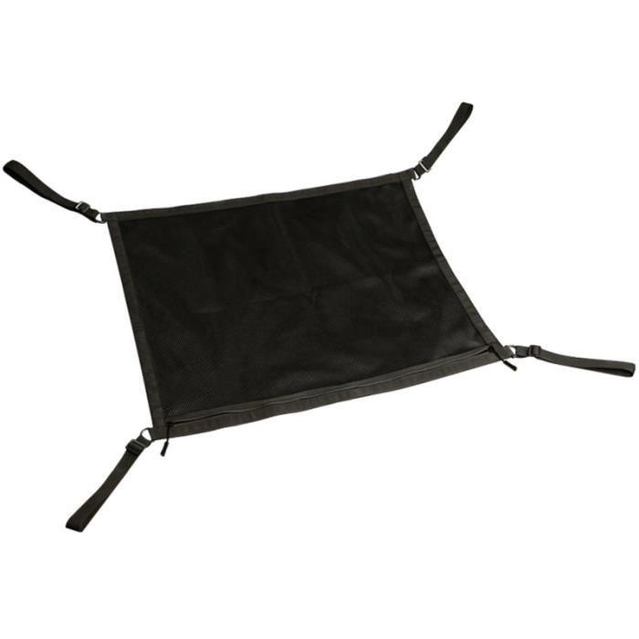 1 pc sac de rangement de voiture durable de filet de accessoire de pochette KIT BADMINTON - PACK BADMINTON - ENSEMBLE BADMINTON