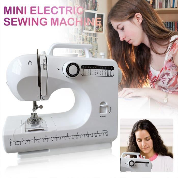 MACHINE A COUDRE Machine à coudre Meilleure machine à coudre pour débutants Meilleur cadeau pour la famille YTT200421111BK_Lavi
