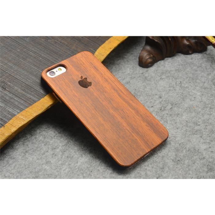 coque iphone 5 5s se naturel en bois sculpture pro