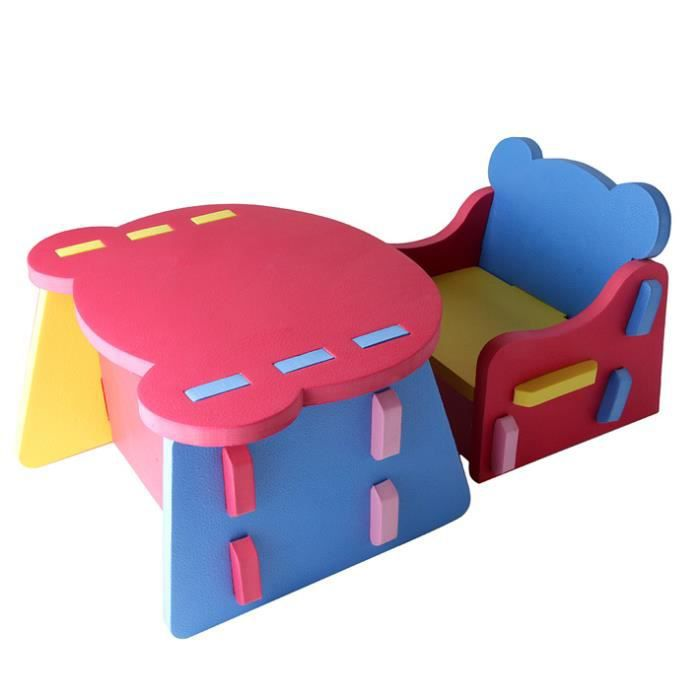 H cadeau animal table chaise tabouret puzzle pour b b for Table et chaise bebe 2 ans