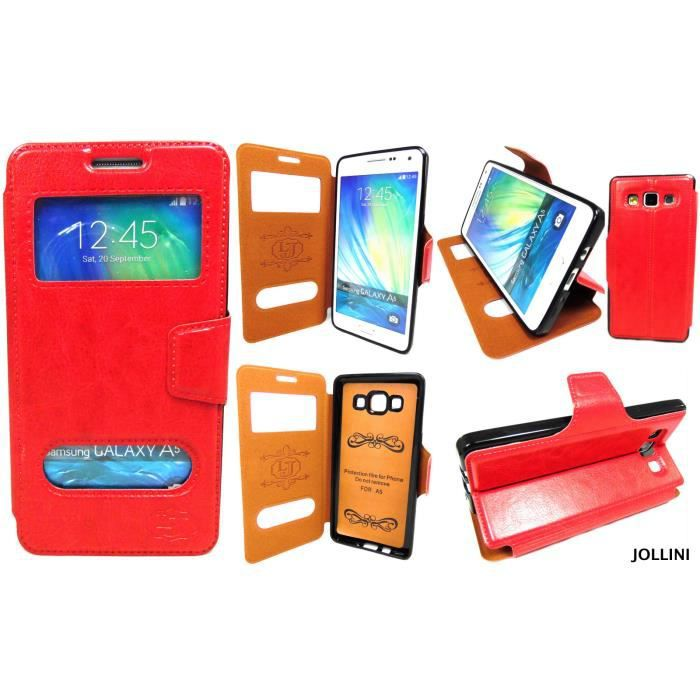 coque samsung a5 rouge