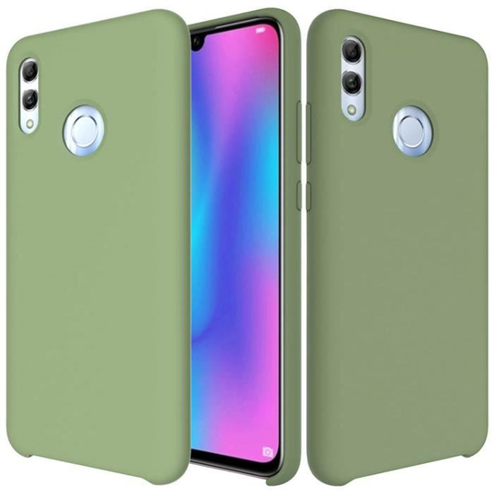 Coque Huawei P Smart (2019) ,Coque Silicone Liquide Anti-Rayures ...