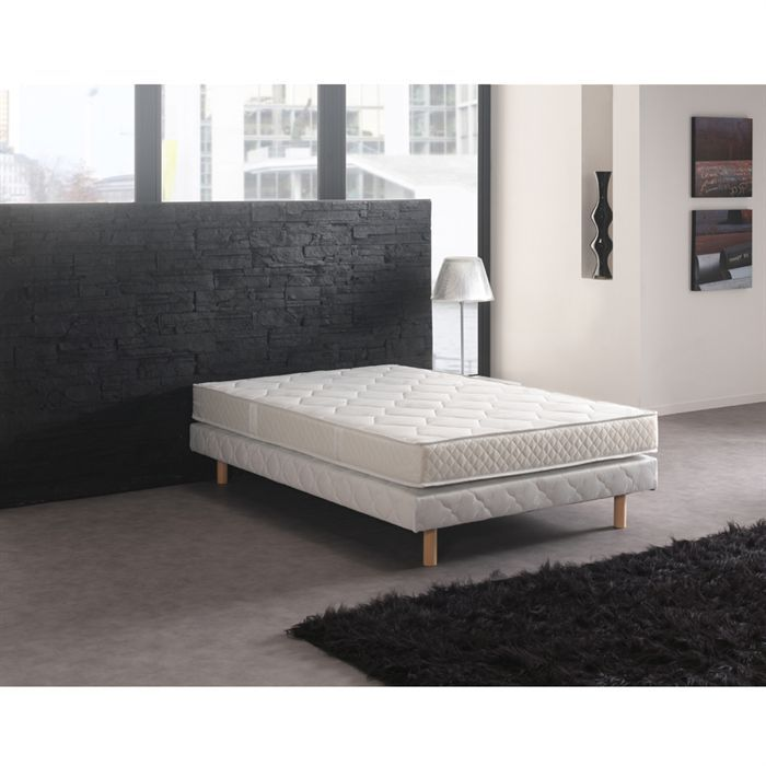 matelas 140x190 mousse bambou achat vente pas cher. Black Bedroom Furniture Sets. Home Design Ideas