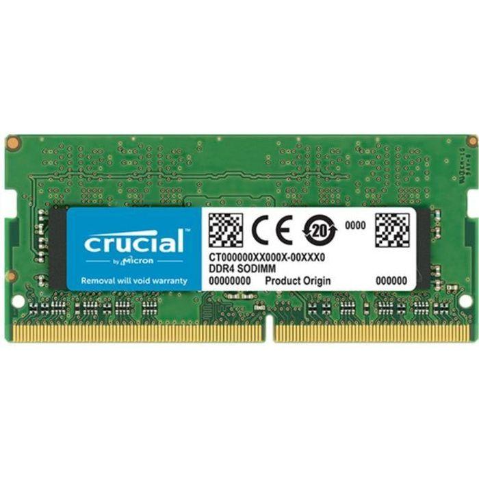 MÉMOIRE RAM Mémoire CRUCIAL 8GB DDR4 2400 MT/s (PC4-19200) CL1
