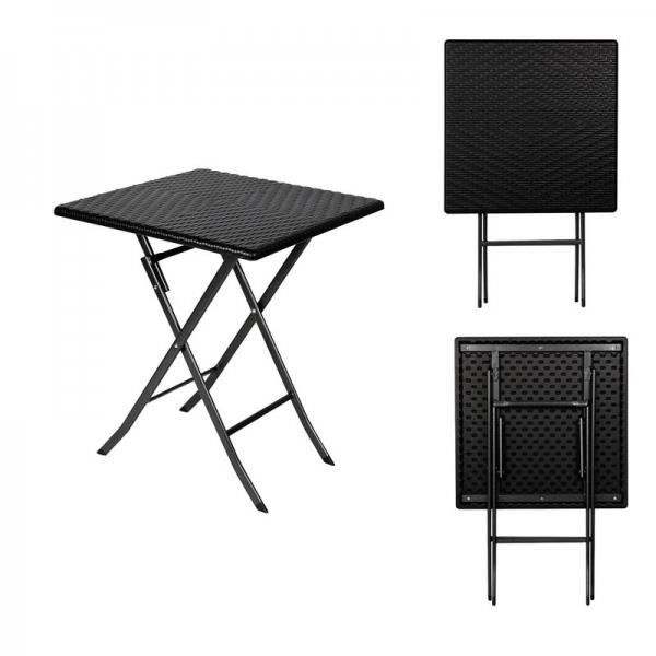 table d 39 appoint pliante carre interieur exterieur fa on