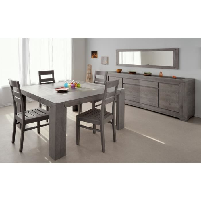 s jour complet sydney ch ne gris achat vente salle manger s jour complet sydney ch ne. Black Bedroom Furniture Sets. Home Design Ideas