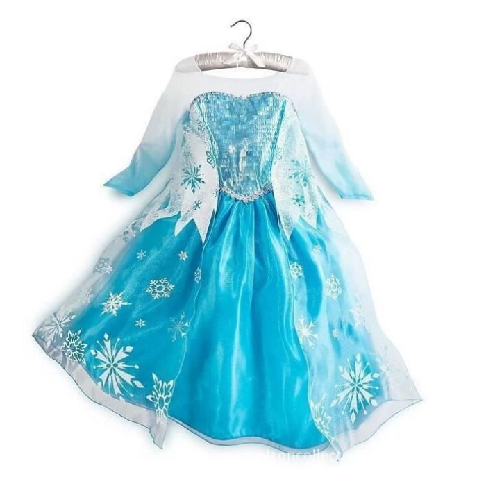 robe elsa la reine des neiges frozen d guisement costume personnage princesse adulte enfant. Black Bedroom Furniture Sets. Home Design Ideas