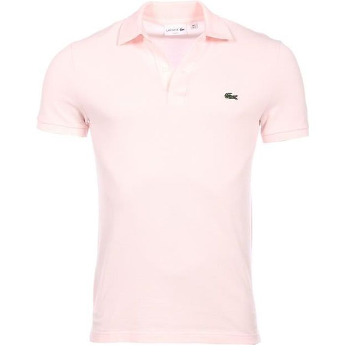 Lacoste homme - Polo manches courtes Rose