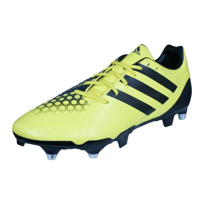 finest selection 8aba4 01f65 adidas Incurza Elite SG Hommes Chaussures de Rugby Jaune 7