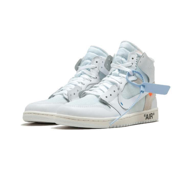 chaussure air jordan 1 x off homme