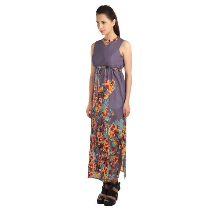 Opus Womens Party A-line 100% Cotton Purple Dress QLRFO Taille-36