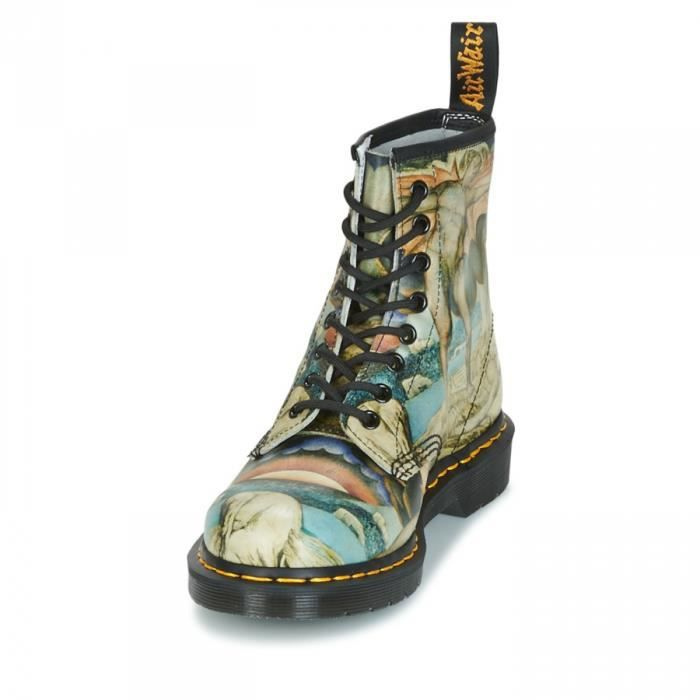 Boots 1460 Multi William Black Backhand W - Dr Martens