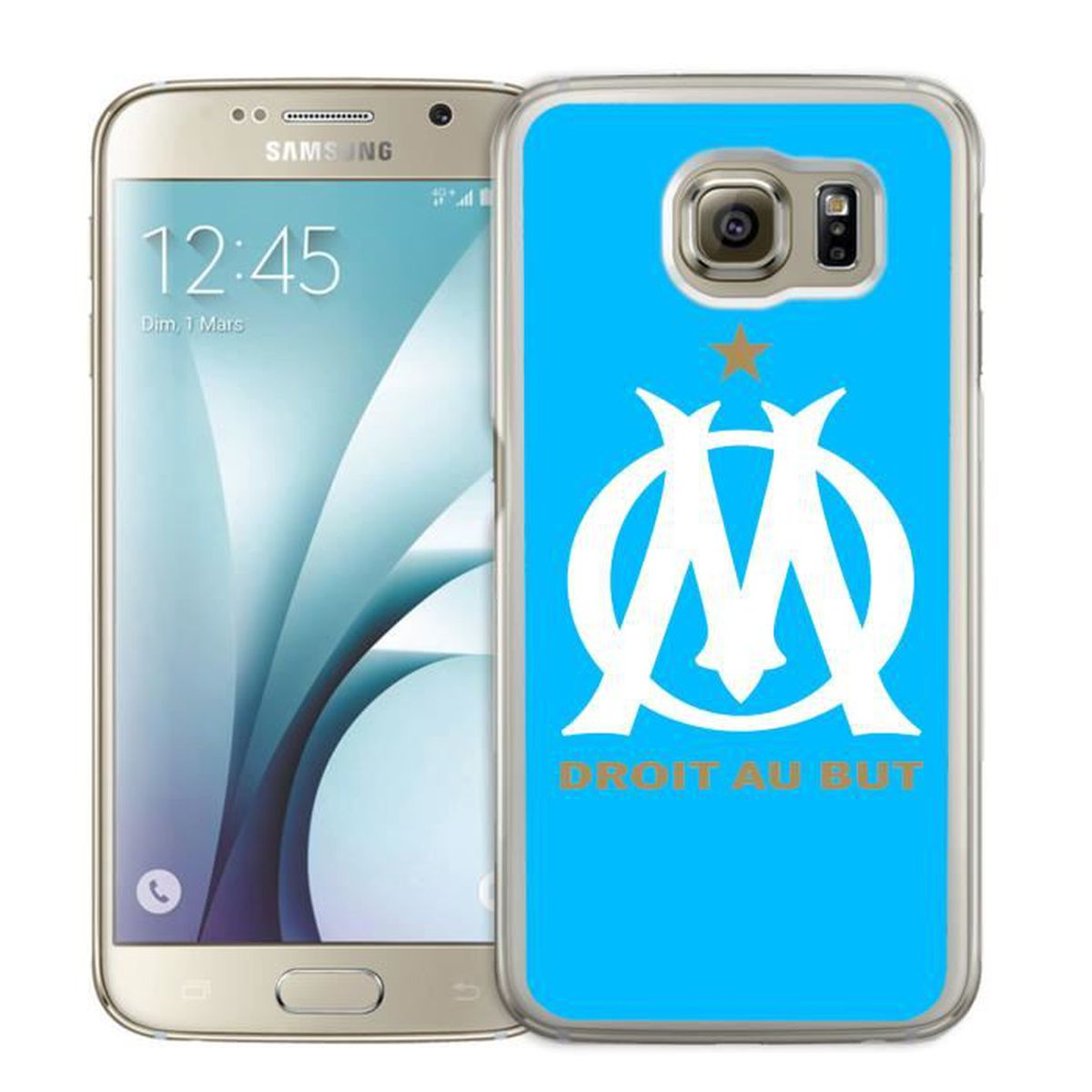 coque samsung galaxy s4 mini olympique de marseille om bleu achat coque bumper pas cher. Black Bedroom Furniture Sets. Home Design Ideas