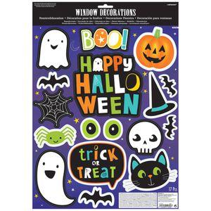 16 * 28 in Lokipa Halloween Fenêtre S/'accroche Autocollants Large Halloween Monstre Stat environ 71.12 cm