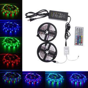 BANDE - RUBAN LED 10M 600leds SMD 3528 LED RGB Light Strip + 44 Kit