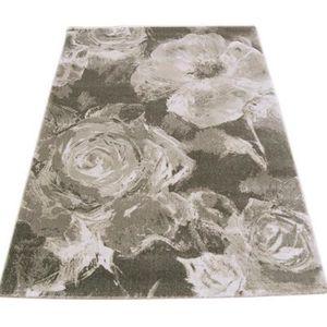 TAPIS NOVATREND - Tapis de salon Moderne REFLEX Floral -