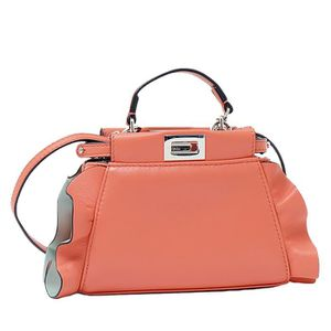 SAC À MAIN FENDI FEMME 8M0355S3ZF03JC-MCF ORANGE CUIR SAC POR ... 0866ad3851c