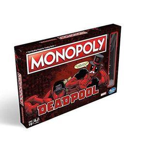 JEU SOCIÉTÉ - PLATEAU Jeu de sciété - Monopoly - Deadpool