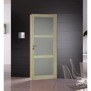 Bloc porte interieur achat vente bloc porte interieur for Dimension porte interieur 83