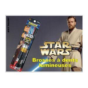 BROSSE A DENTS Brosse à dents Star Wars Lightsaber 3D