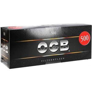 Tubes CIGARETTE TUBE 500 avec filtre ocb