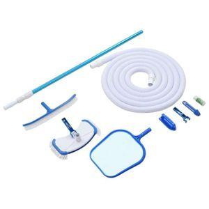 BALAI - BROSSE  Kit d'entretien Nettoyage Piscine aspirateur de ba
