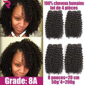 PERRUQUE - POSTICHE 4 tissage bresilien virgin hair boucle human cheve