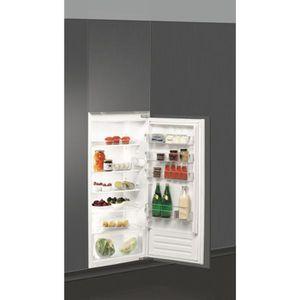 RÉFRIGÉRATEUR CLASSIQUE Réfrigérateur intégrable 1 porte Tout utile WHI…