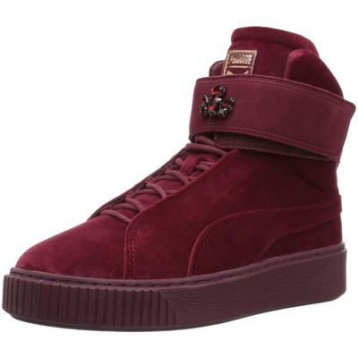 1 Women's Cicu5 Wns Puma 36 2 Taille Mid Sneaker Platform Velour PagWqw7xO