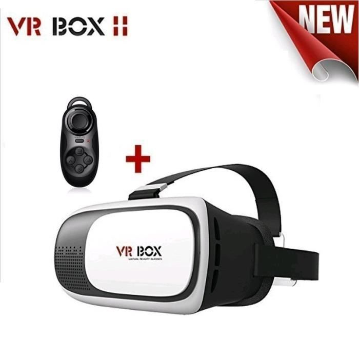 Box 2 VR Virtual Reality 3D Video Glasses Cardboar