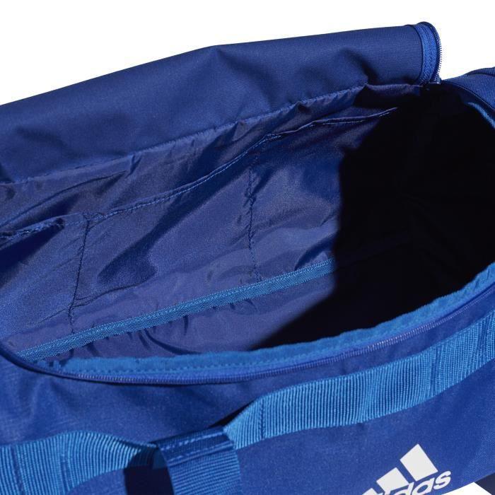 Sac de sport adidas en toile Convertible 3-Stripes - bleu roi/blanc/blanc - M