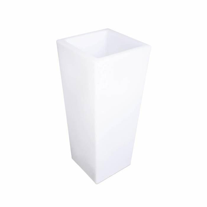 Vase lumineux LED 75cm 16 couleurs résistant à l'eau, rechargeable, avec télécommande