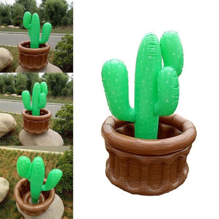 Pool Party Gonflable Boisson Seau à Glace Cactus