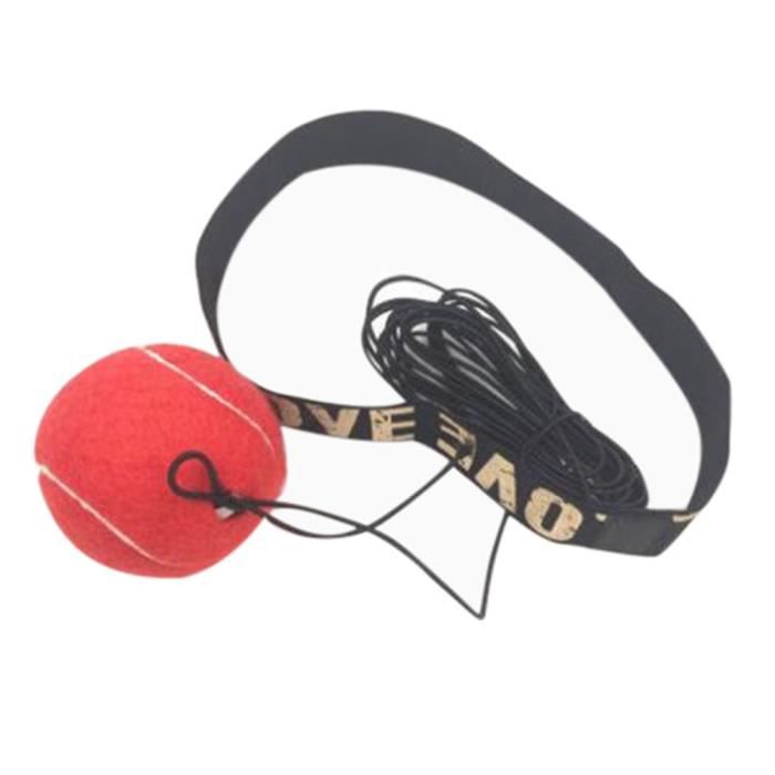 Fight Ball With Head Band pour la formation Speed Reflex Boxe Boxing Punch Exercise