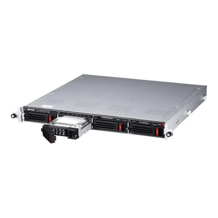 BUFFALO Système de stockage SAN/NAS TeraStation 5410RN - 4 x Total de compartiments - Annapurna Labs Alpine Quad-core