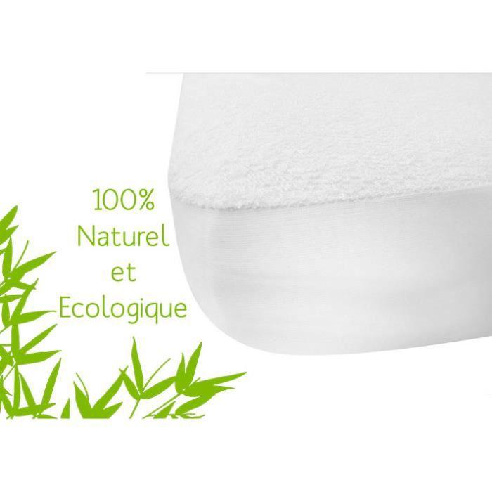 Alèse Écologique BAMBOU NATUREL (60x120 cm)