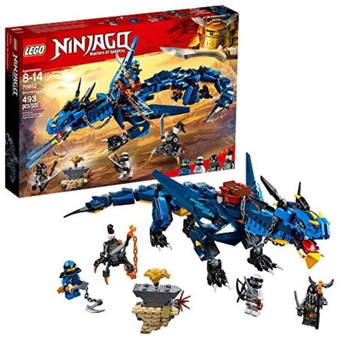Jeu D'Assemblage LEGO RQJ6P ninjago storm bringer 70652 kit de construction (493 pièces), multicolore