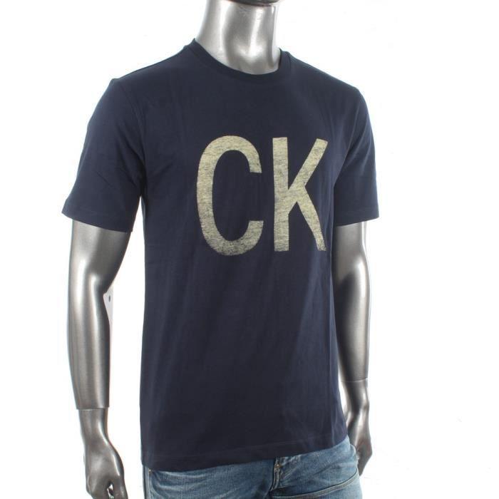 Polo - Calvin Klein - Tee Shirt homme Calvin Klein