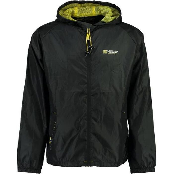 Coupe vent Homme Geographical Norway Boat New Noir